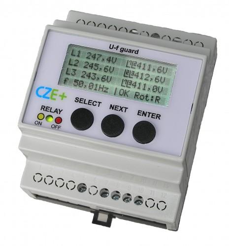 napěťová a frekvenční ochrana